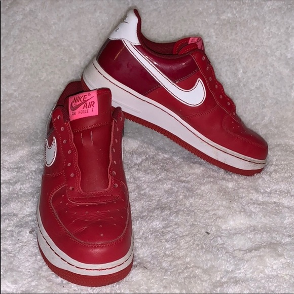 Nike Other - RED AF1 limited edition